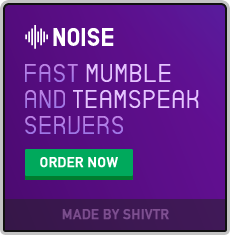 Mumble and TeamSpeak server hosting | By Noise
